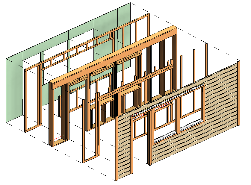 Revit add ons wood framing wall the ultimate timber wall software flexible modeling of timber studs plates bracings bridgings noggings metal or wooden straps equipment supports and more publicscrutiny Images