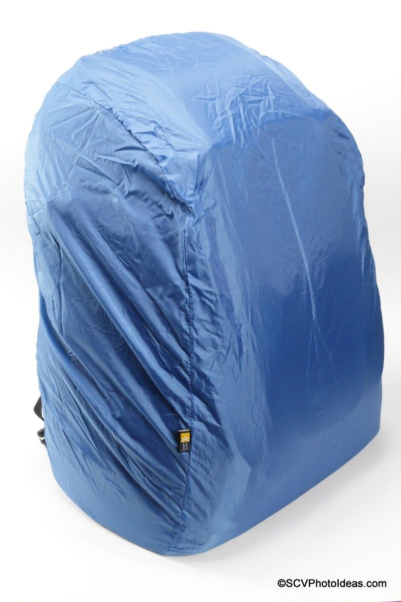 Case Logic DSB-103 rain cover fitted