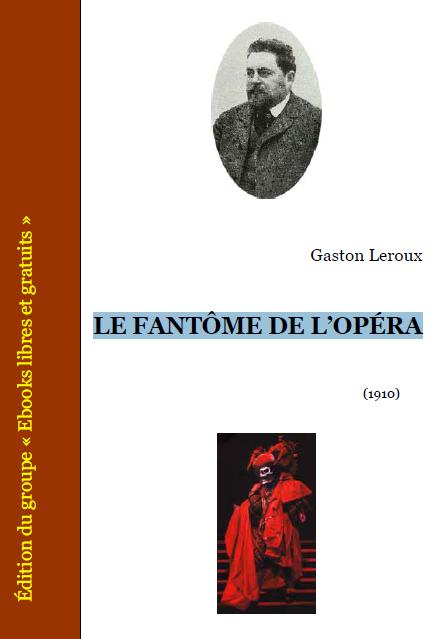 Télécharger  LE FANTÔME DE L'OPÉRA pdf