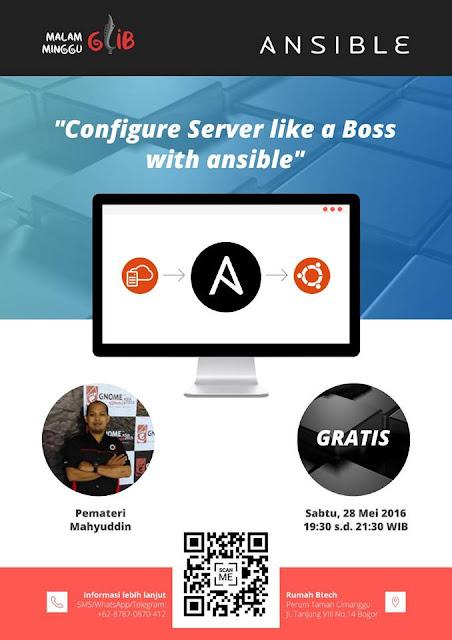 Kelas Konfigurasi Server Dengan Ansible