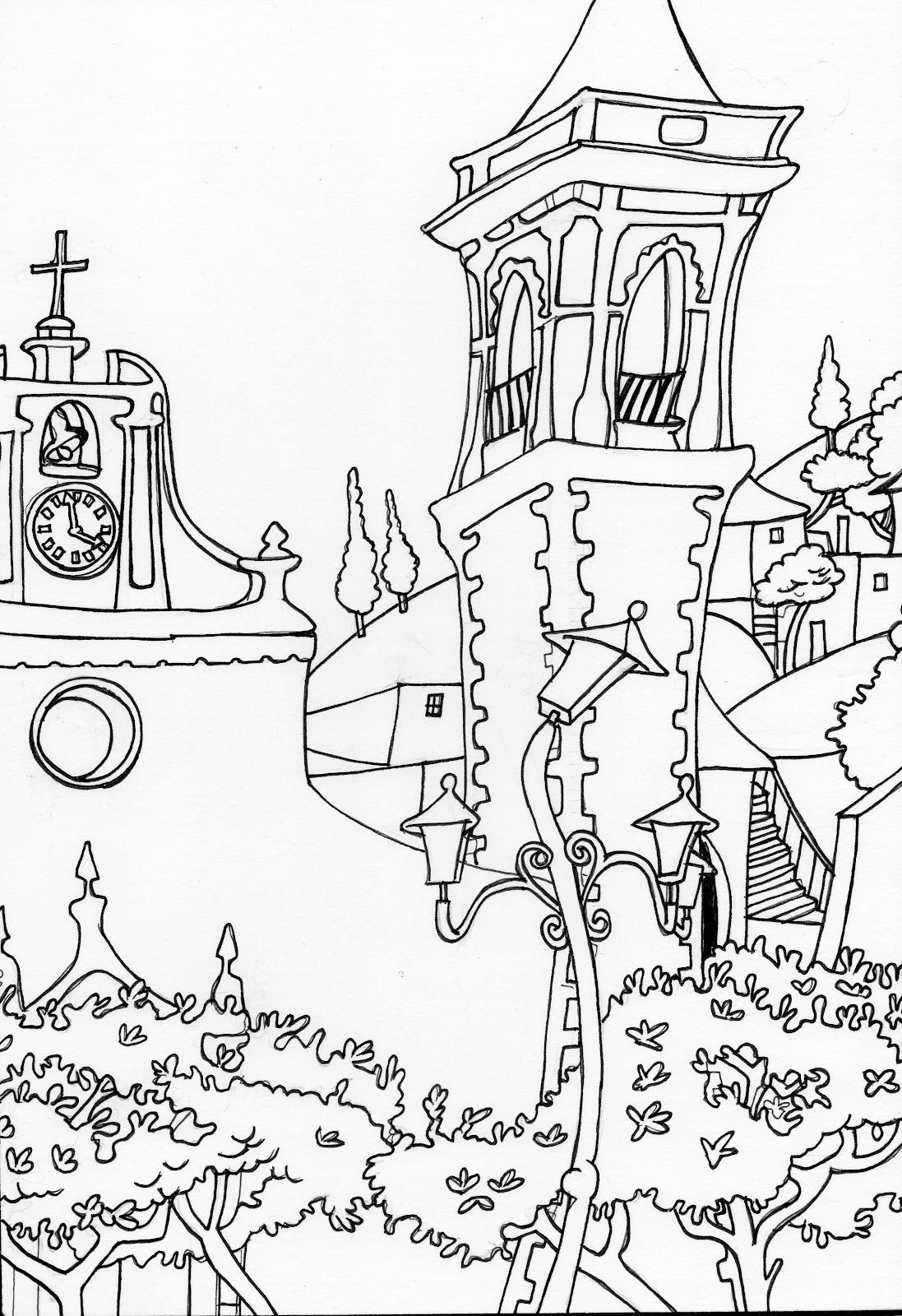 Dibujos de Cádiz para colorear