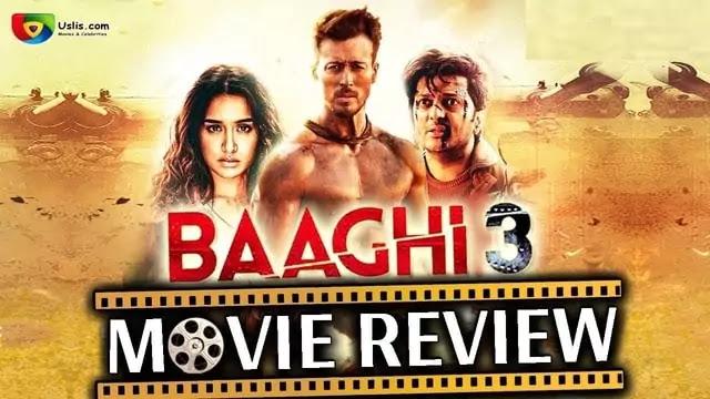 Baaghi 3 Movie review Bollywood Hindi film - Uslis