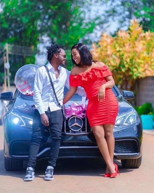 Diana Marua gifts her husband Kevin Bahati