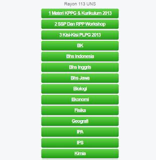 Modul Latihan Materi PLPG Semua Mata Pelajaran di Lengkapi Pembahasan Kurikulum 2013