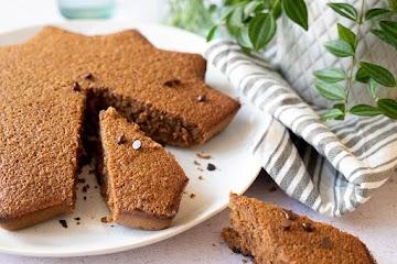 Gâteau à la châtaigne et pépites de chocolat