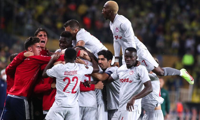 Φενέρμπαχτσε - Ολυμπιακός 0-3: Τα γκολ της αναμέτρησης (vid)