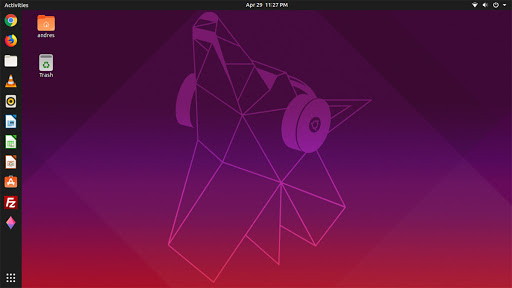 Distro linux ubuntu (sumber foto:wikipedia)