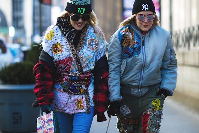 NEW YORK FASHION WEEK F/W 16  STREET STYLE (II)
