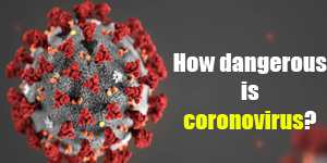 How dangerous is coronovirus?