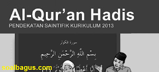 Download Soal Quran Hadist Kelas 1 PTS. UTS. MID Semester 1. Kunci Jawaban. Th. 2019 - 2020. Kurikulum 2013