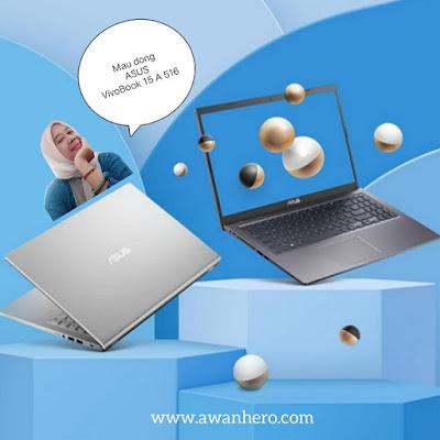 Asus VivoBook 15 A516, penulis, IRT