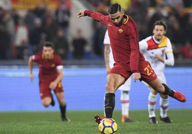 Gol penalti Defrel Roma