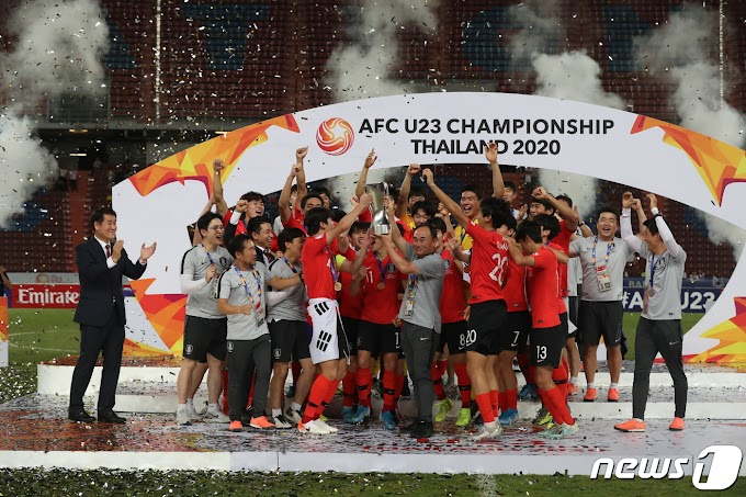 South Korea are Under Asian Champions