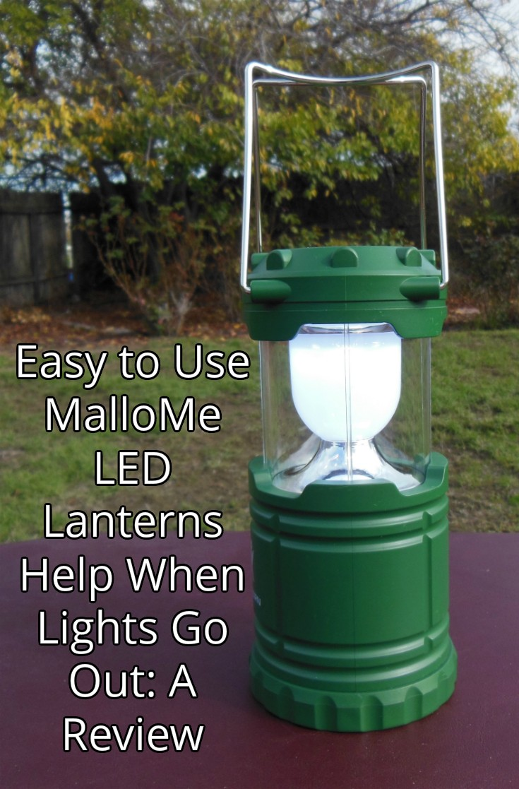 Use Mallome Led Camping Lanterns When Lights Go Out A Review