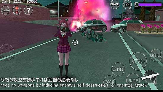 SAKURA School Sim Mod Apk For Android
