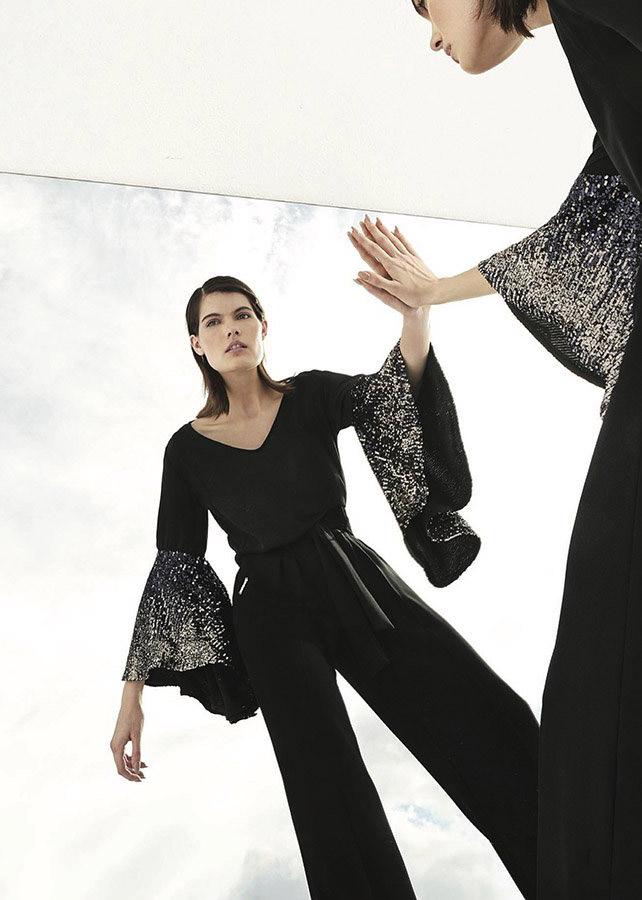 Blusas otoño invierno 2020 mangas. Moda invierno 2020 ropa de mujer.