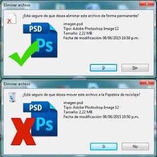 Formas de eliminar un archivo manualmente
