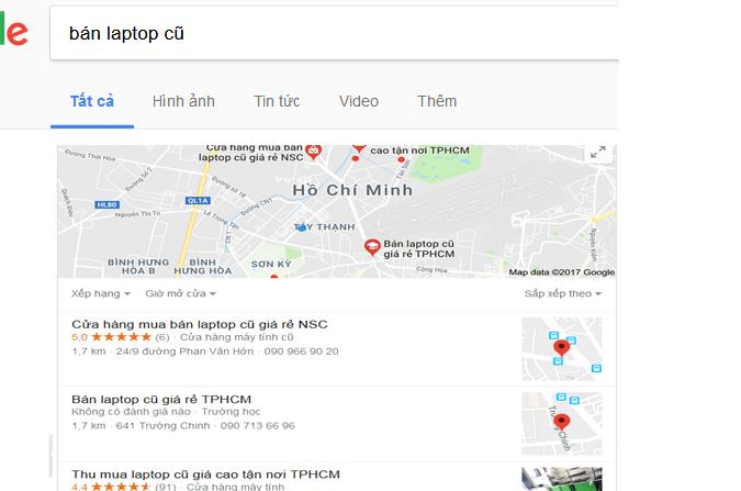 Hướng dẫn thêm địa chỉ Công ty lên bản đồ Google Map