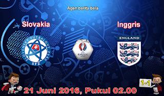 prediksi slovakia vs inggris 21 juni 2016