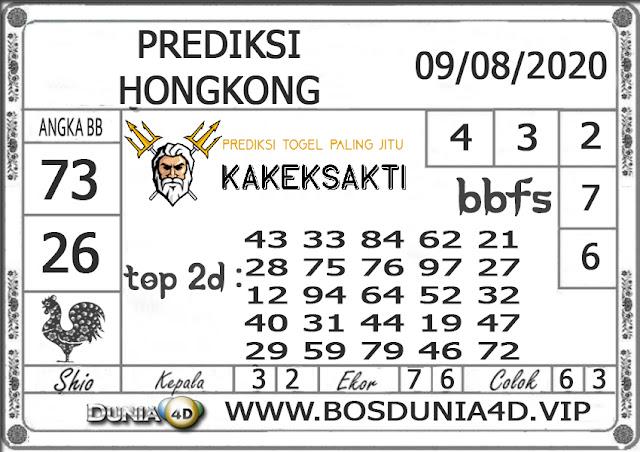 Prediksi Togel HONGKONG DUNIA4D 09 AGUSTUS 2020