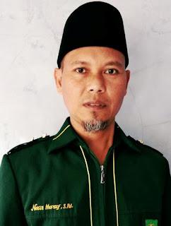 Nasir Ma'ruf, S.Pd.I. guru bidang studi Sosiologi di YPI Miftahulfalah Citepus