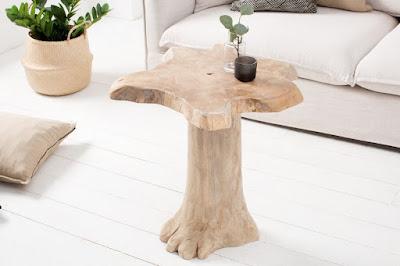stolíky Reaction, drevený nábytok, nábytok do obývačky
