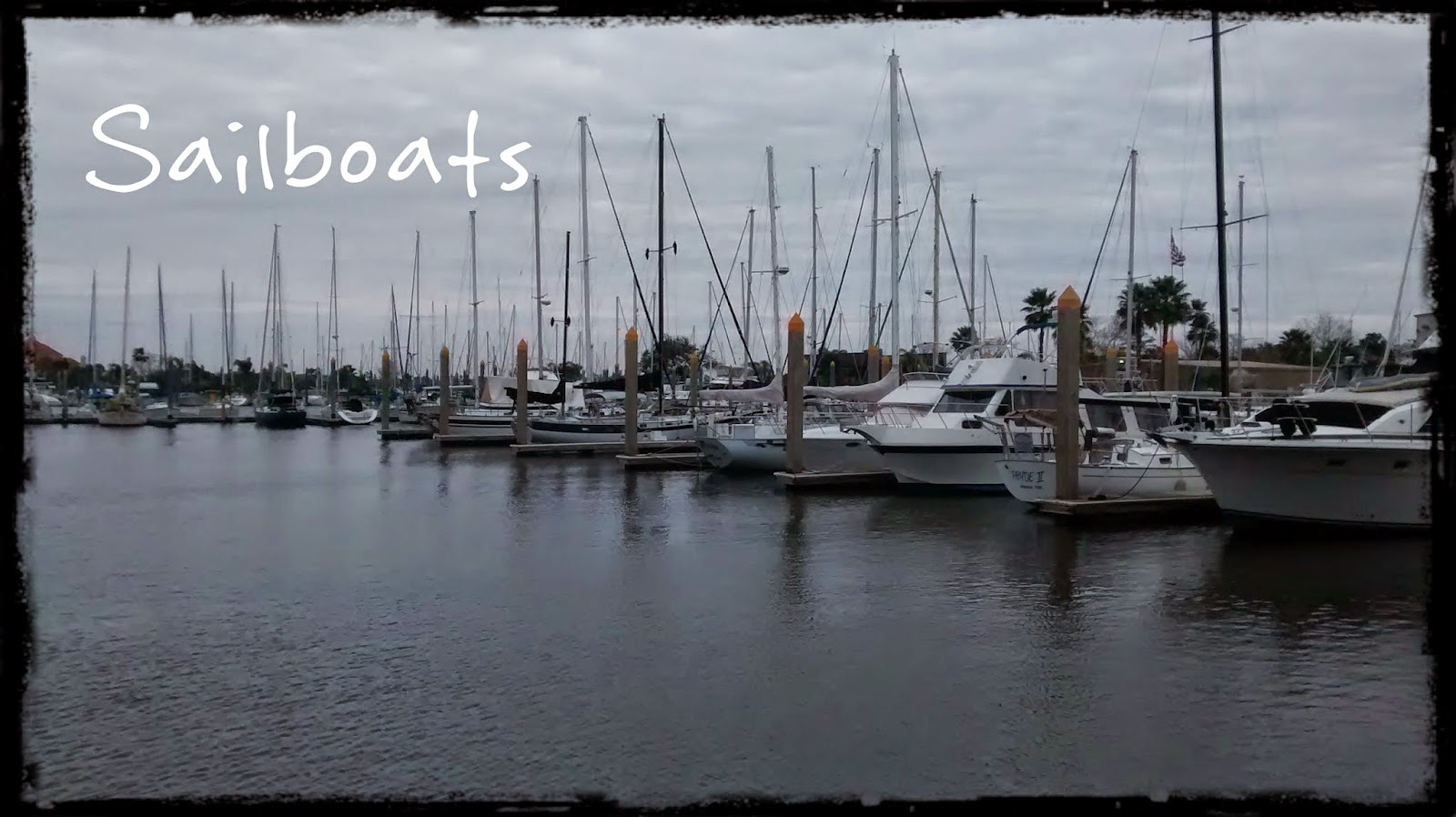 Sailboats in Kemah TX
