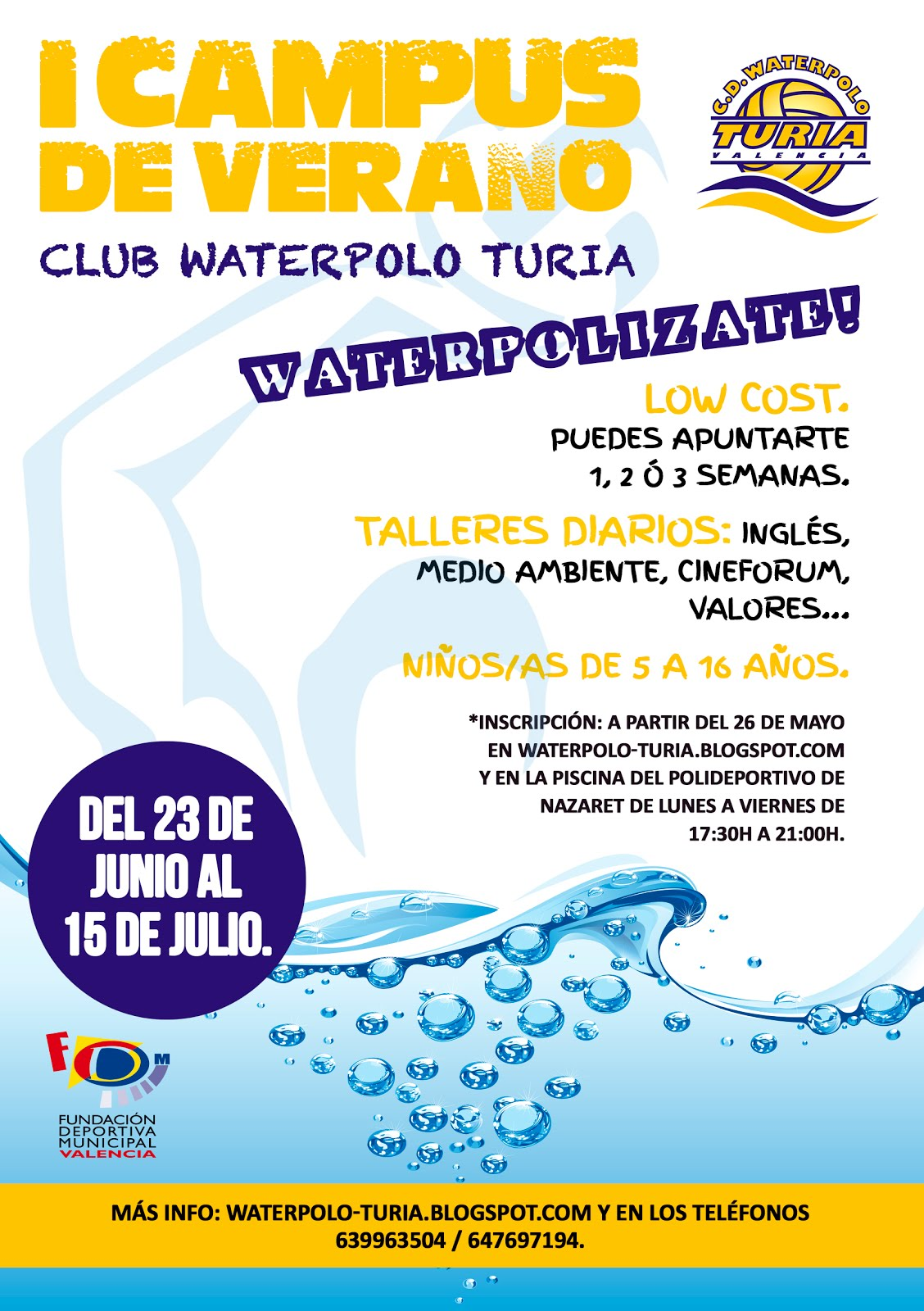I CAMPUS  CD. WATERPOLO TURIA