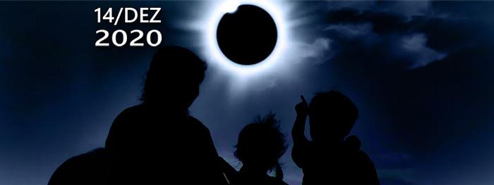 eclipse solar total de 14 de dezembro de 2020