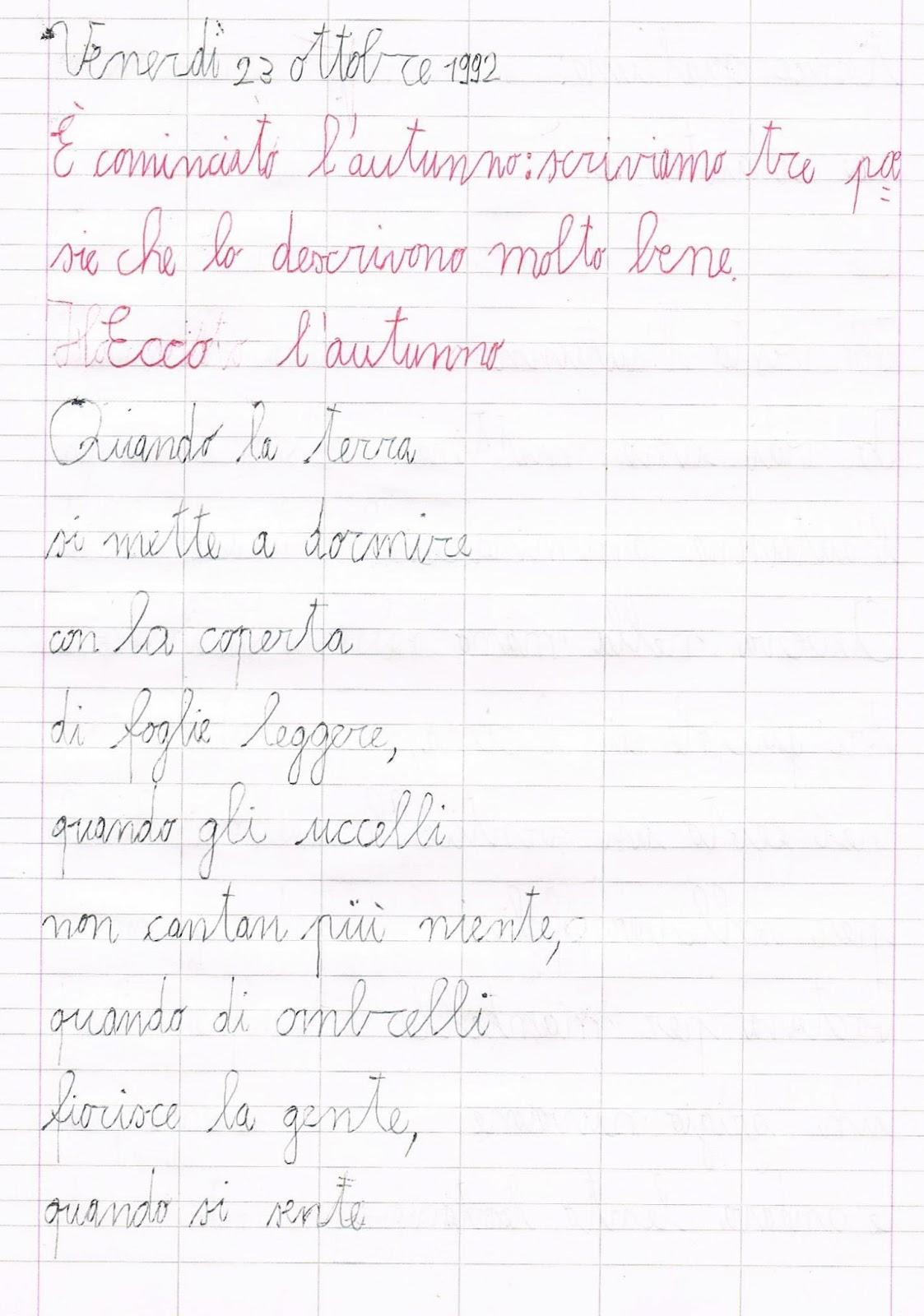 Preferenza Poesie sull'autunno LM66