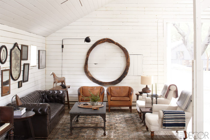 equestrian inspired interior