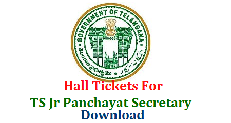 Download Hall Tickets for Telangana Panchayat Secretary Posts Recruitment Notification issued to fill up 9335 Vacancies in Telangana Panchayat Raj Department  ts--junior-panchayat-secretary-hall-tickets-download-manabadi.com-tspri