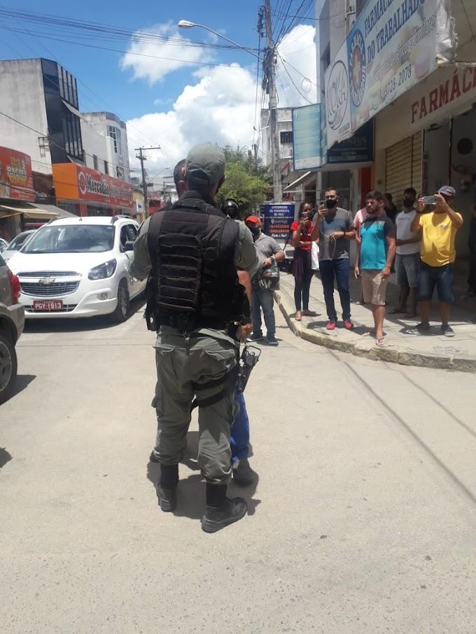 Governo de Pernambuco de maneira covarde usa as forças do estado contra o cidadão trabalhador