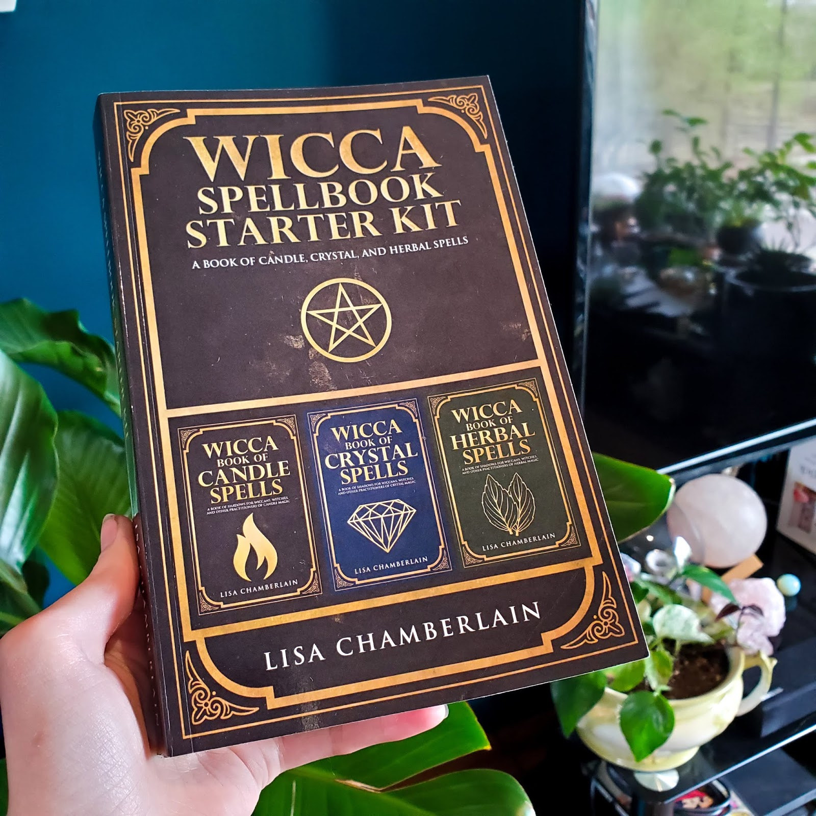 Wicca Spellbook Starter Kit by Lisa Chamberlain