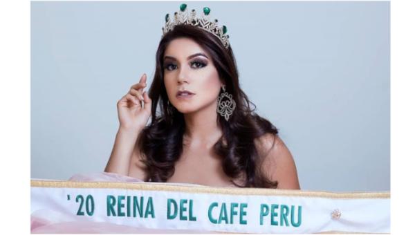 Flavia Nuñez es Reina del Cafe Perú 2020