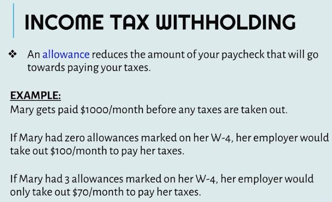What is  allowance?