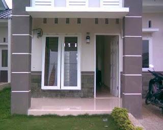 contoh teras rumah minimalis kumpulan gambar desain