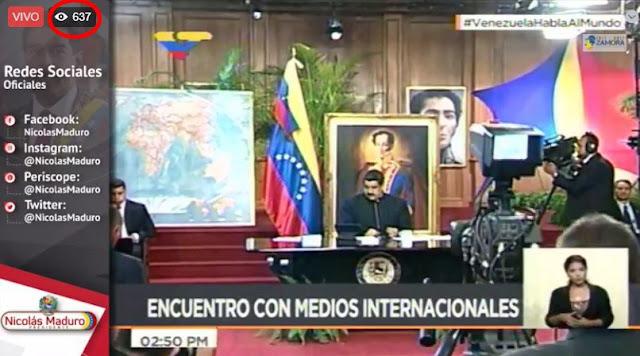 Maduro Miente y con todos sus dientes! No tiene 200.000 seguidores!