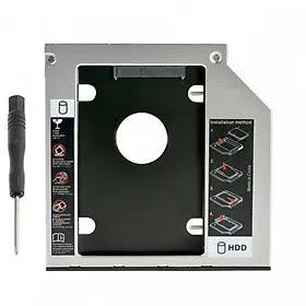 Khay Caddy Bay Đựng HDD, SSD 9.5mm - Phụ Kiện Cho Laptop, OEM