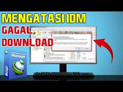Cara Melanjutkan Download Gagal di IDM
