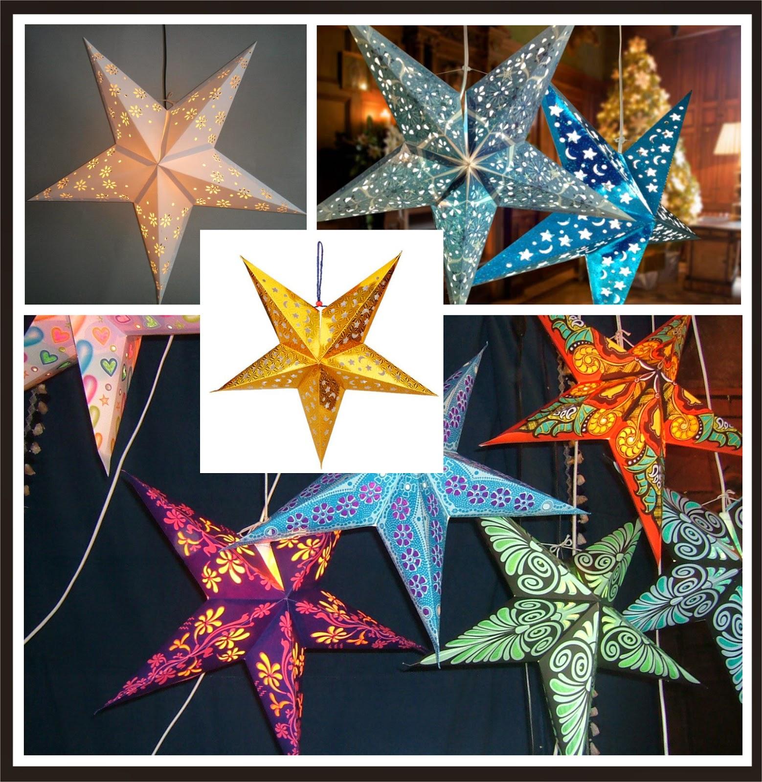 Estrellas De Papel Para Decorar