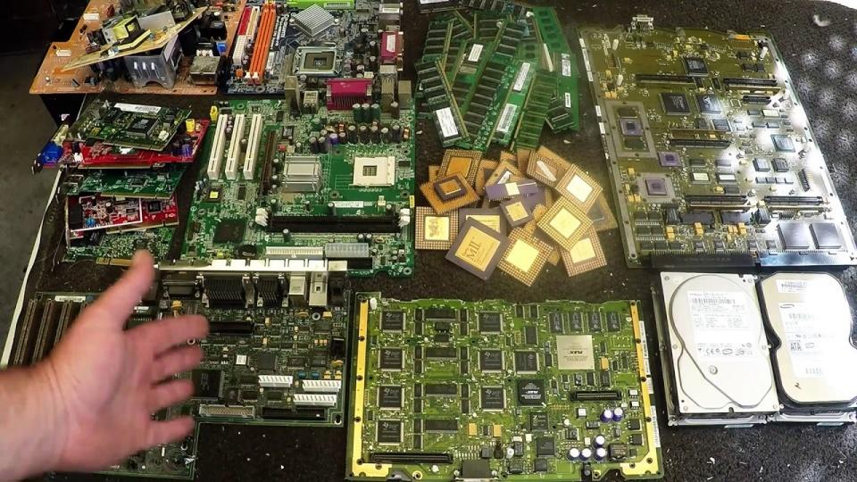Tình hình rác thải điện tử ở việt nam, phát điện từ rác thải