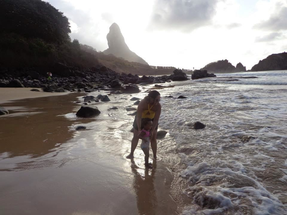 Final de tarde na Praia do Cachorro