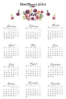 Kalender 2020 unik dan menarik