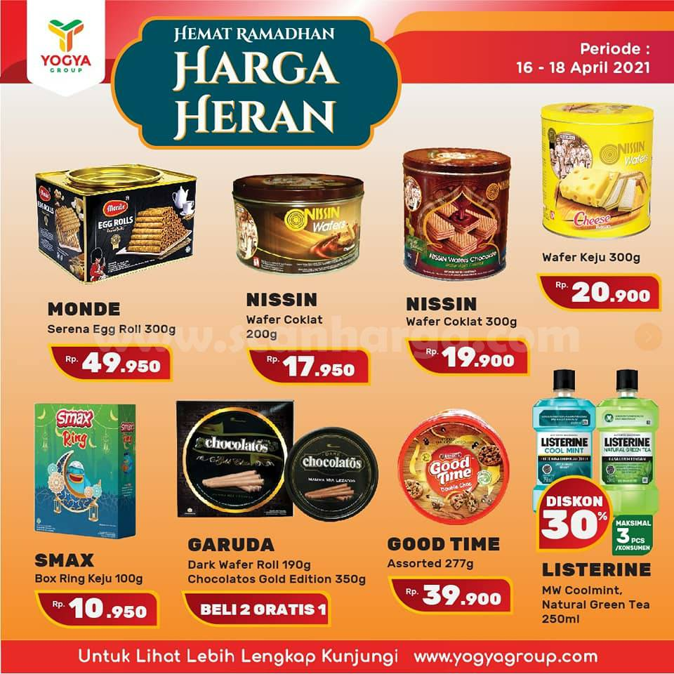 Katalog Promo Toserba Yogya Weekend 16 - 18 April 2021 6