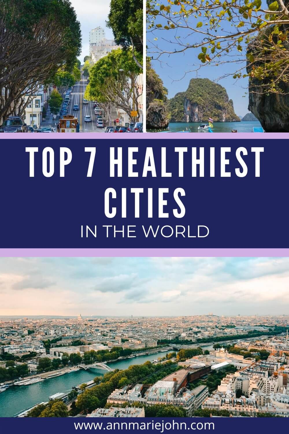 Top 7 Healthiest Cities