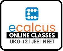 eCalcus Educational App for Free Online Classes UKG-12, JEE & NEET