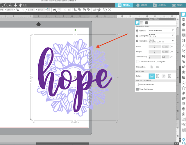 PNG files, trace by color, cut files, silhouette studio, trace designs