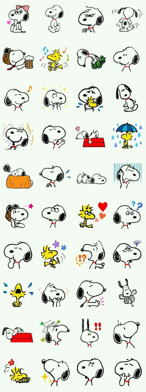 personajes de snoopy