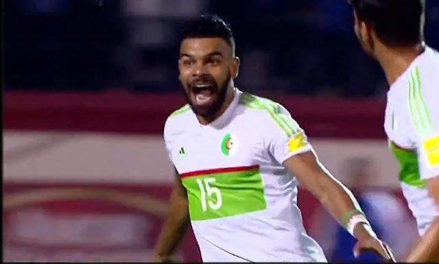 اهداف الجزائر والكاميرون